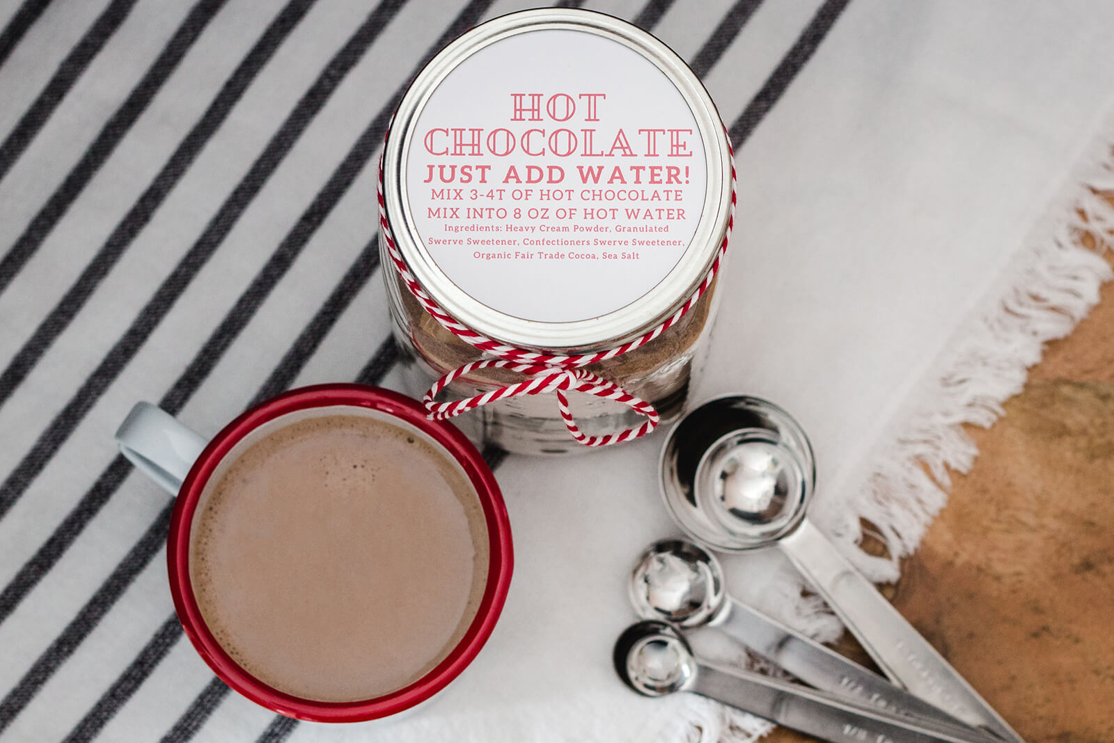 Homemade Keto Hot Chocolate Mix Recipe Bake It Keto