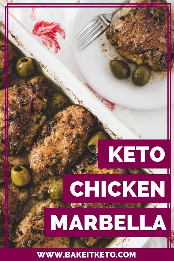 Keto Chicken Marbella Pin Keto Low Carb Chicken Casserole.