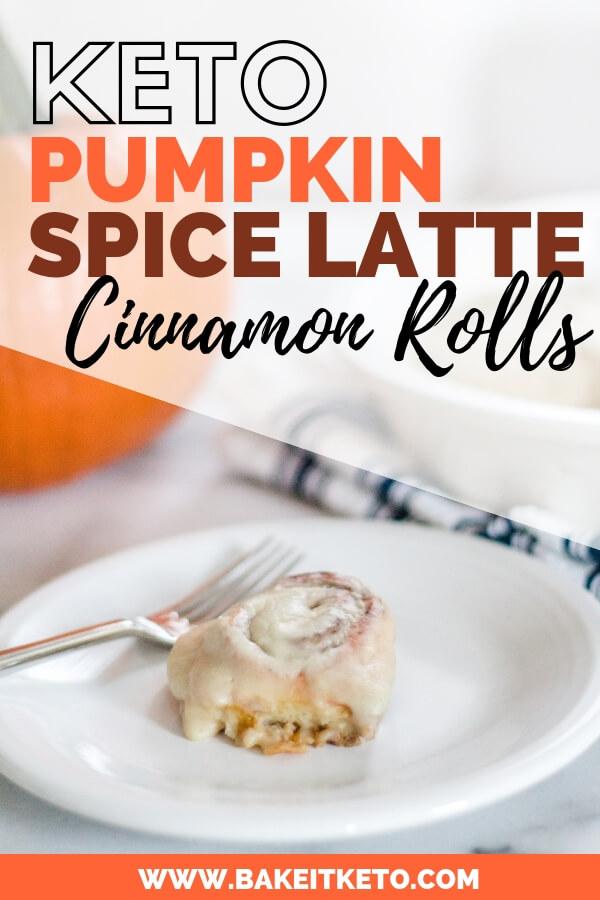 Keto Pumpkin Spice Latte Pin Image
