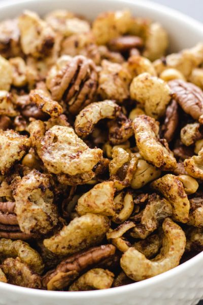Low Carb Keto Faux Chex Party Mix