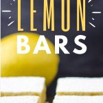Keto Lemon Bar Pin Image