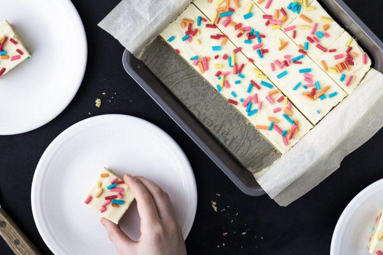 Low Carb Keto Funfetti Cake Batter Cookies