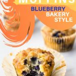 Bakery style keto blueberry muffins