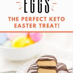 keto reese's peanut butter eggs copycat