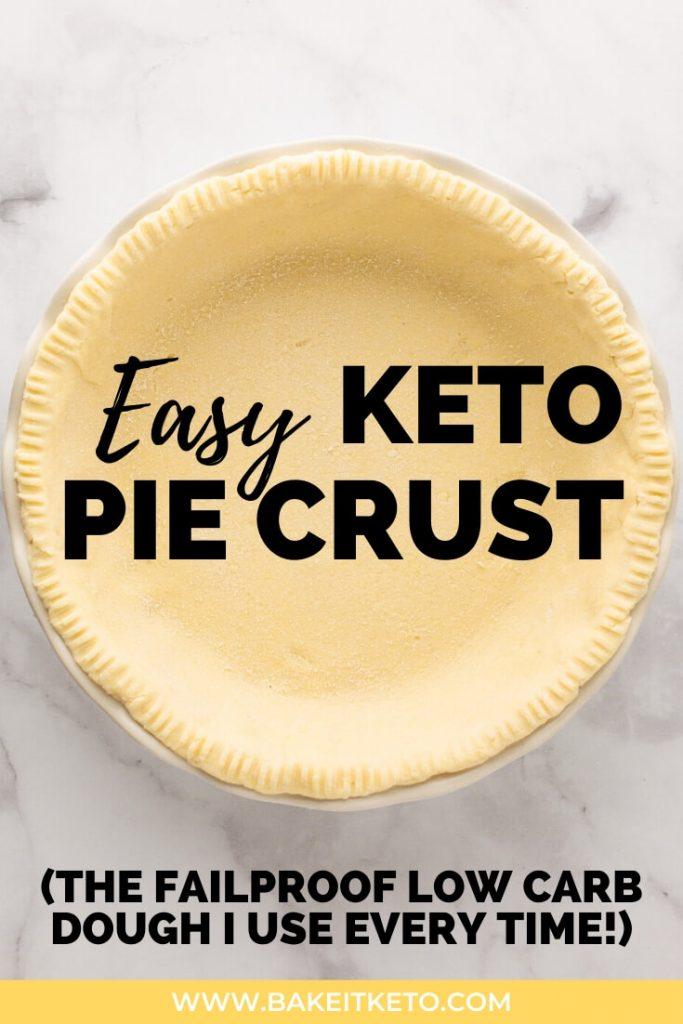 Easy Coconut Flour Pie Crust Recipe