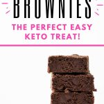 Keto brownies pin image 22920