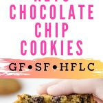 Best Keto Chocolate Chip Cookies With Coconut Flour Pin Image 22920